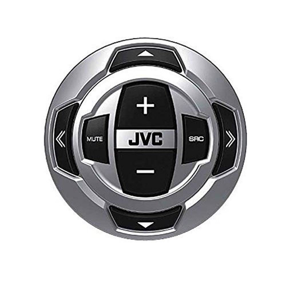 JVC Marine Stereo Receiver Bundle Kit with Remote Control Black Enrock 50 ft Speaker Wire Enrock Wire Antenna 6 Enrock 6.5 Marine Speakers Pyle 4 Ch 400w Waterproof Amplifier