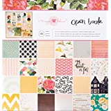 Crate Paper Maggie Holmes Open Book Patterned Paper Pad, 12 by 12-Inch