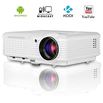 EUG Wireless HD Android Proyector de video 1080p HDMI Soporte ...