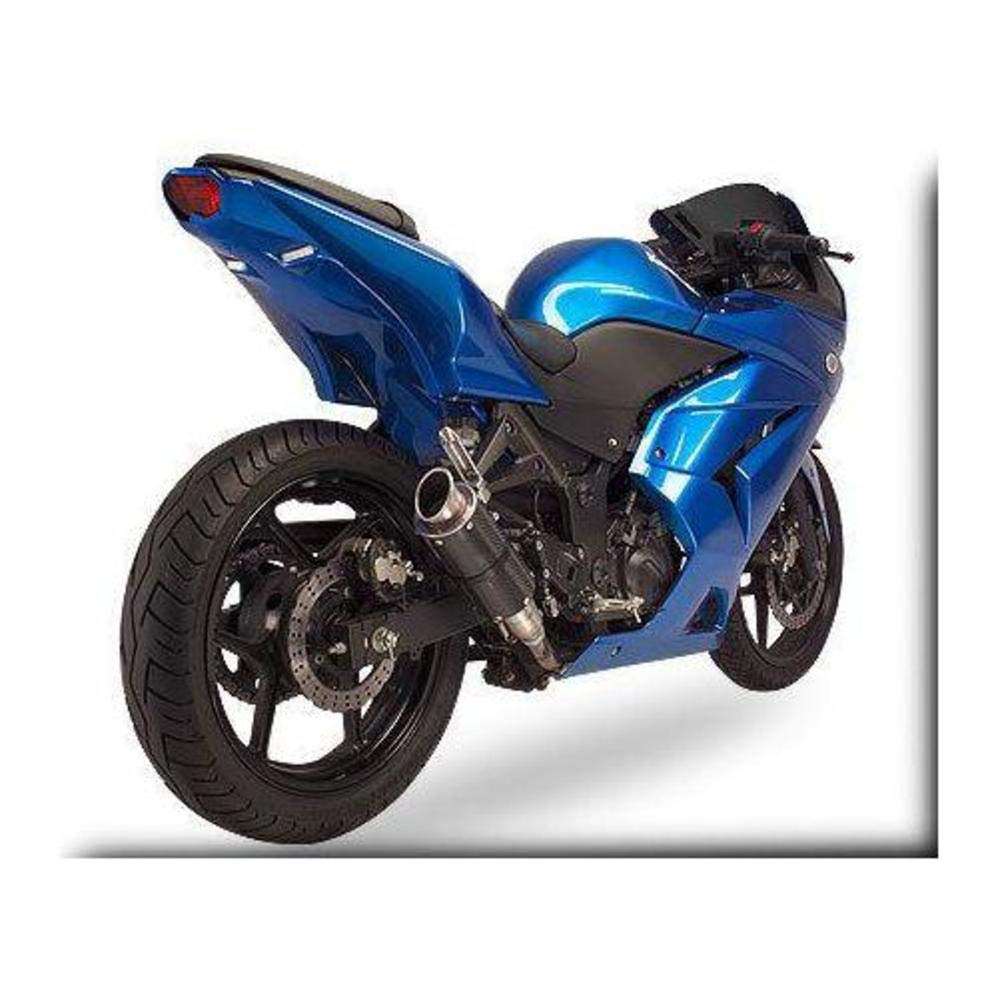 Hotbodies Racing S03SV-SB-BLU07 Pearl Vigor Blue ABS Undertail with Built-In LED Signal Lights