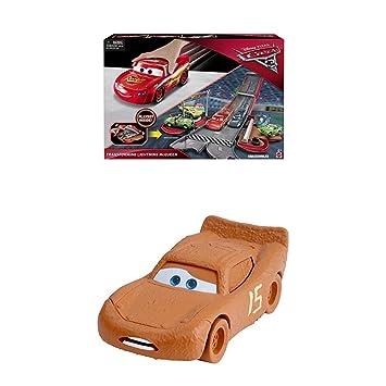 Mattel Disney Cars 3 FCW04 Verwandlungsspaß Lightning