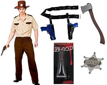 Sheriff Zombie Jager Kostum Der Perfekte Zombie Jager Fur Fasching