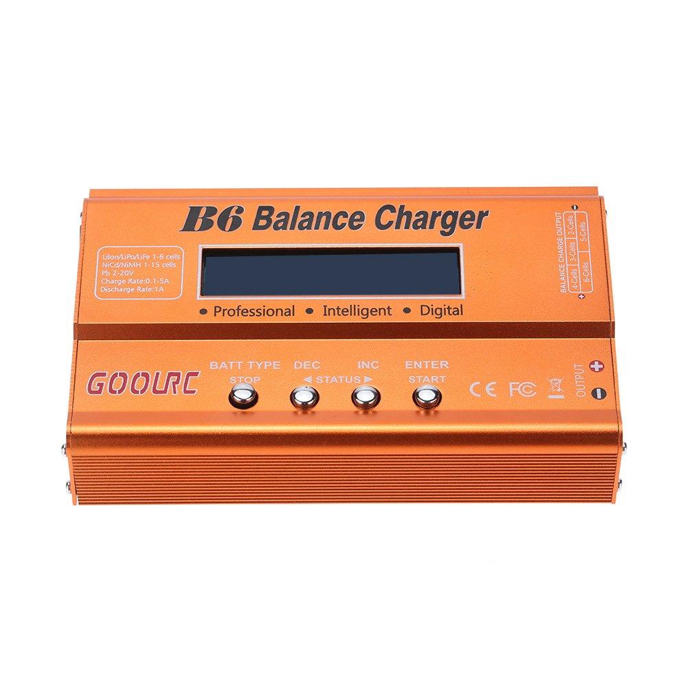 Goolrc B6 Mini Professional Balance Charger Discharger Imax Rc Pro Multifunctional For Lipo Lilon Life Nicd Nimh Pb Battery Toys Games