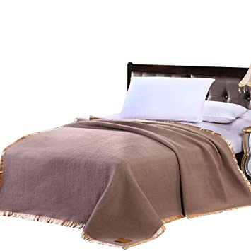 Decke Wddwarmhome Brown Warme Raum Freizeit Hotel Bettwäsche