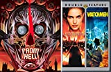 Alan Moore Collection - From Hell, V for Vendetta & Watchmen 3-DVD Bundle