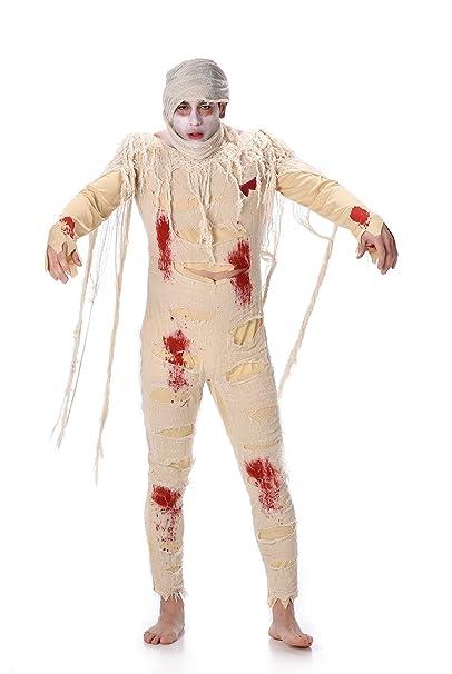scegli originale prezzo imbattibile ottenere a buon mercato Costume da mummia zombie per uomo adulto, ideale per ...
