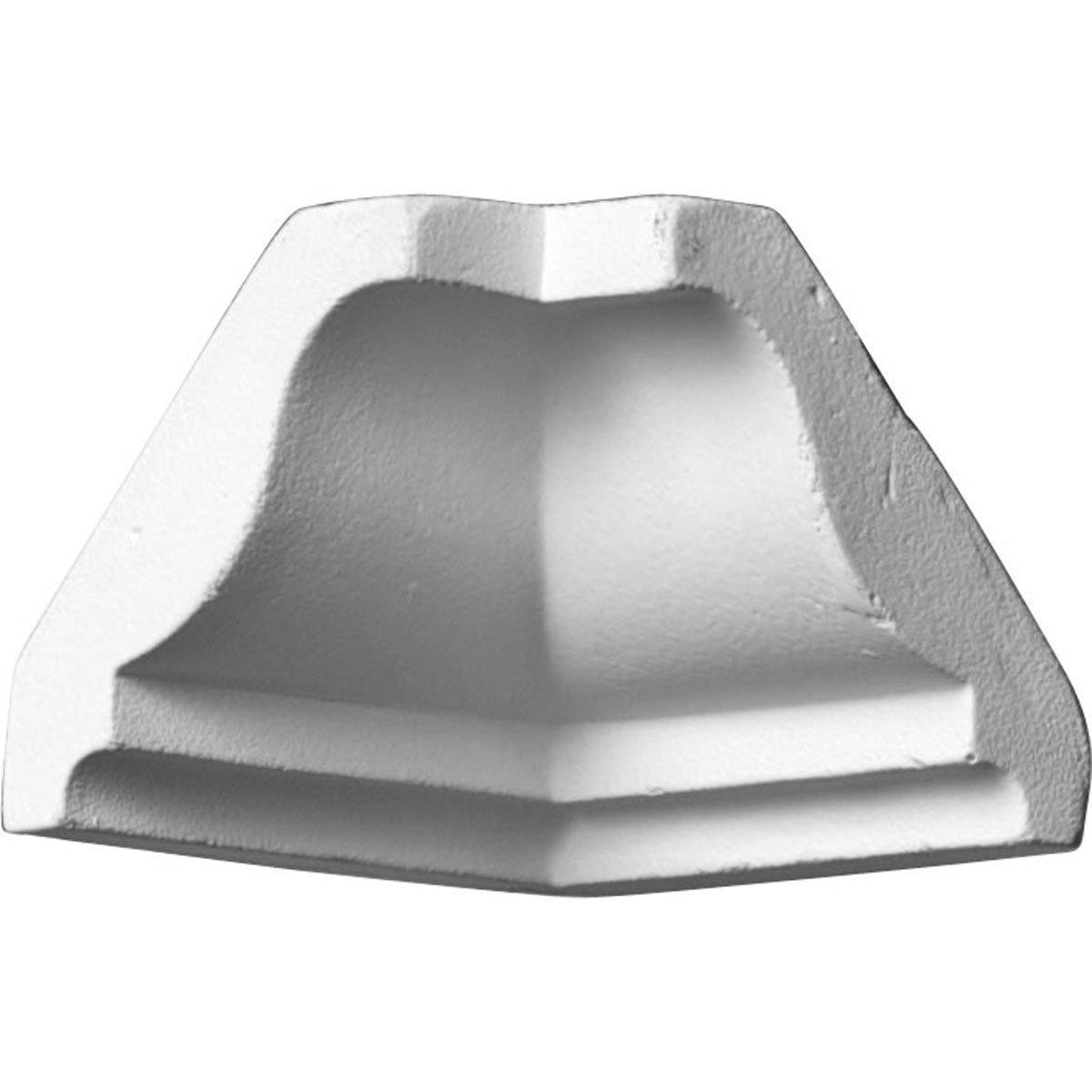 Ekena Millwork MIC01X01OD-CASE-4 1-5/8'' P x 1-5/8'' H Inside Corner for Molding MLD01X01X02OD (4-Pack)