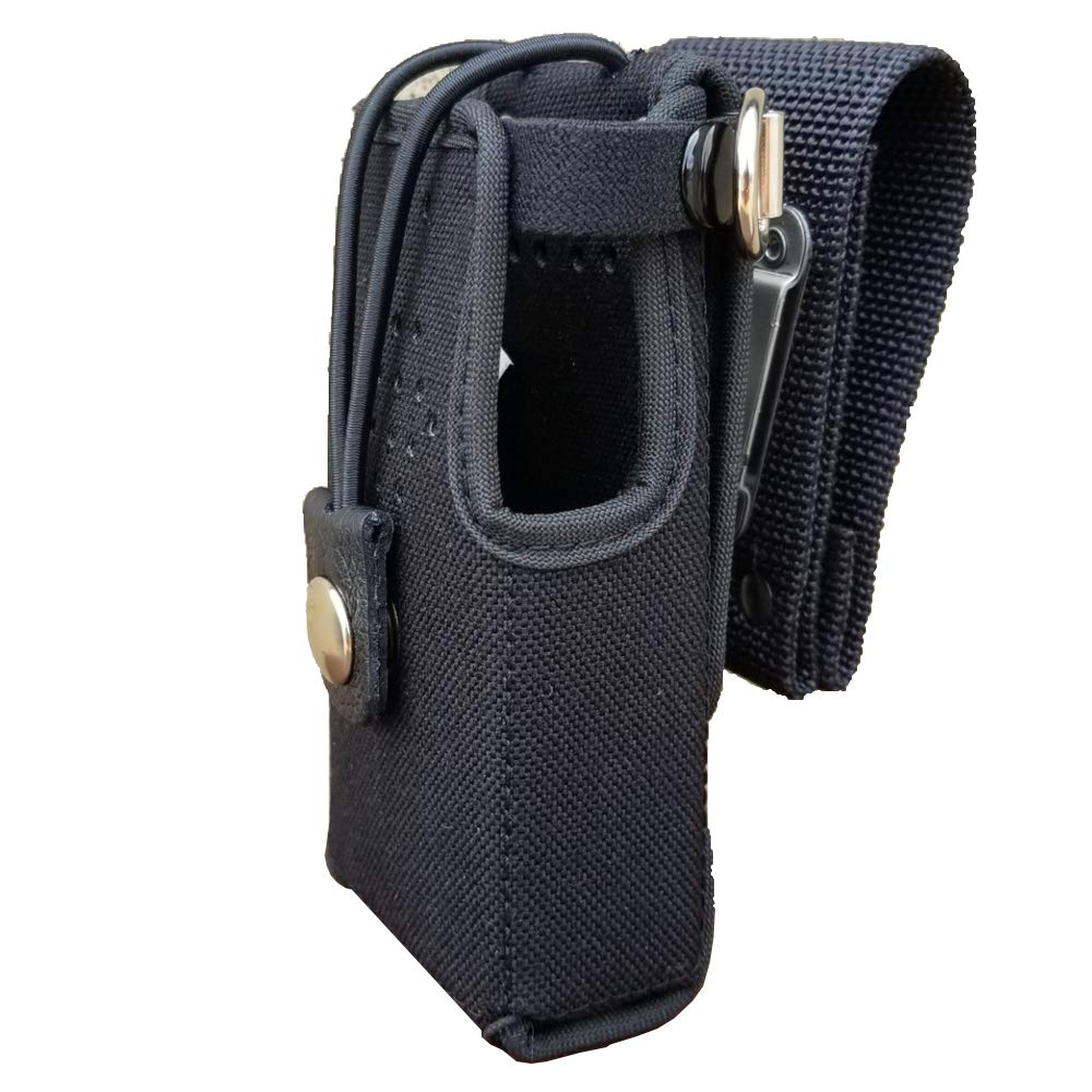Case Guys HY3020-5BWD Rigid Nylon Swivel Belt Loop Holster Case with Bungee Cord for Hytera PD602 Two Way Radios
