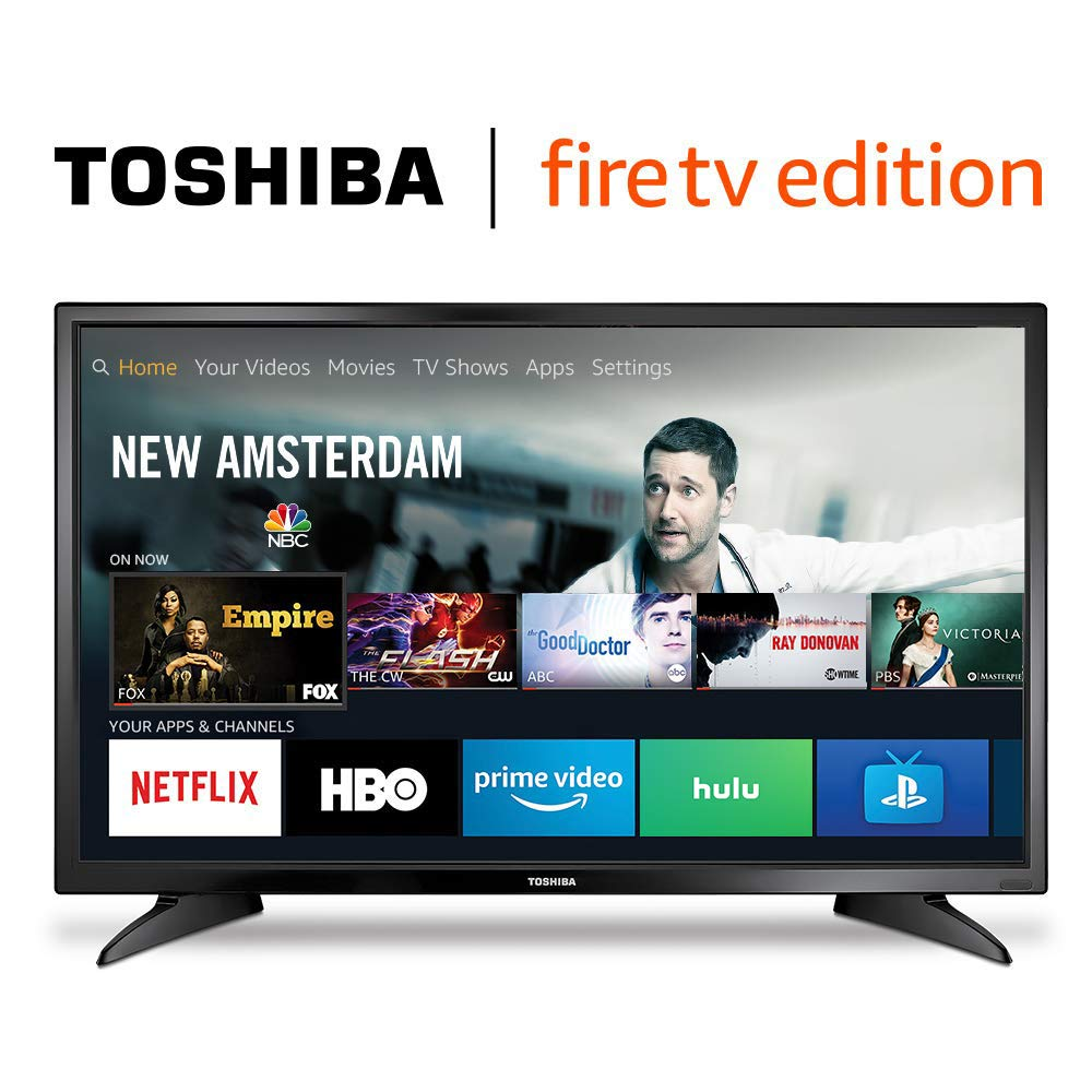 a1d8c71b3b0 Amazon.com  Toshiba 32LF221U19 32-inch 720p HD Smart LED TV - Fire TV  Edition  Electronics