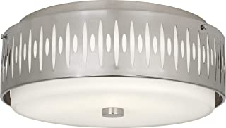 "product image for Robert Abbey Treble 20 1/2""W Antique Silver Ceiling Light"