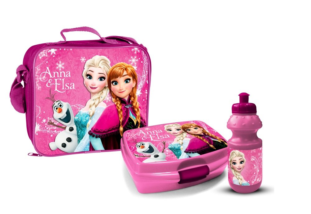 Star Licensing Lunchbox-Set, aus PVC-Kunststoff, bunt, 3-teiliges Set 46852