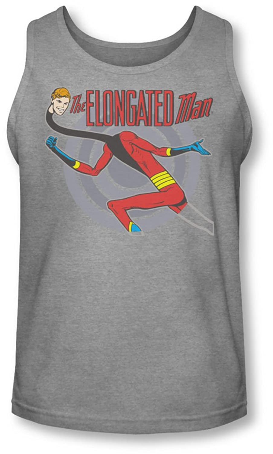 Dc - Mens Elongated Man Tank-Top