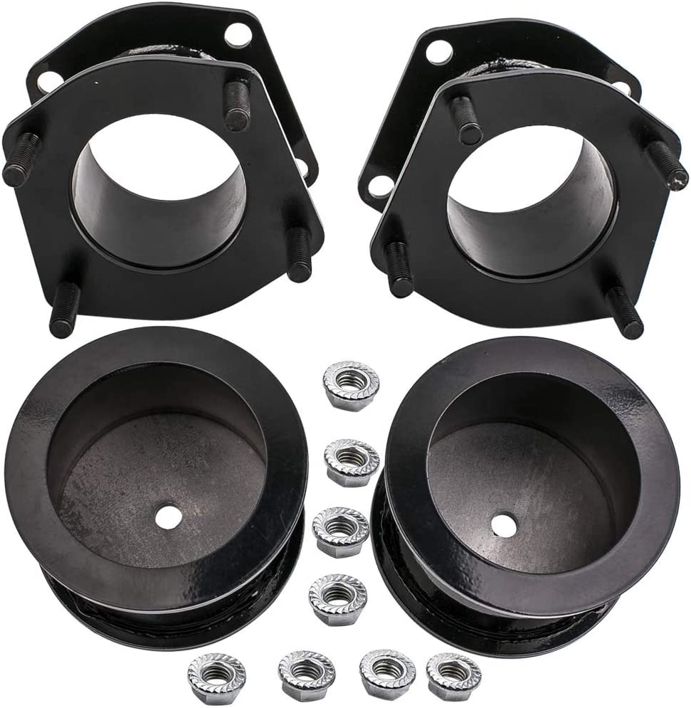 Level Lift Kits with 3 Lift for Jeep Grand Cherokee WK 4WD//2WD 2005-2010 Jeep Commander 4WD//2WD 2006-2010