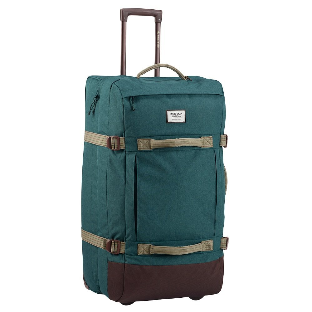 Burton Exodus Roller Travel Bag Jasper Hthr Cordura NA
