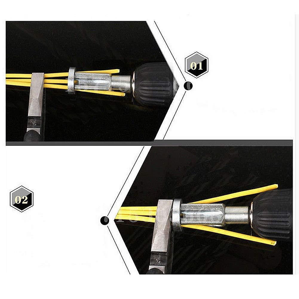 1 outil de d/énudage et de torsion outil de d/écoupe de torsion pour une utilisation avec des tournevis de perceuse /électrique. outil de connecteur de fil
