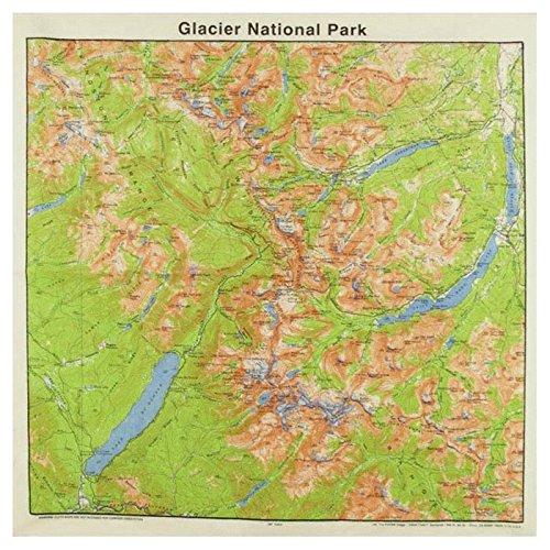(The Printed Image Glacier National Park Bandanas)