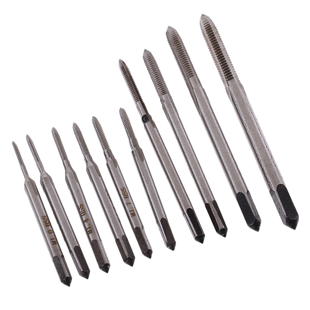 Gazechimp 10 Pcs M1-m3.5 Mini-vis à Main En Alliage D'acier Vis Foret Bits Ensemble D'outils