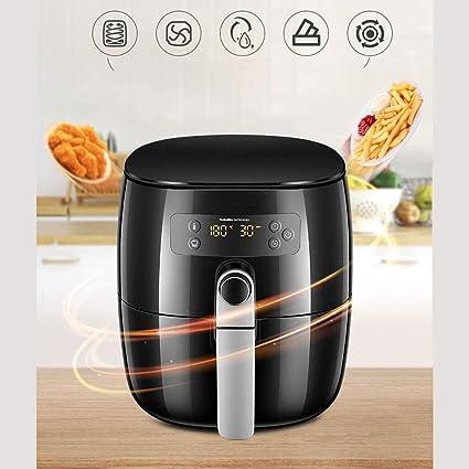 YILIAN kongqizhaguo Freidora de Aire Fries Machine Home Multifunción Freidora eléctrica sin Aceite, automática de Gran Capacidad Tecnología de calefacción ...