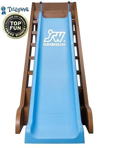 Amazon.com: Slide Whizzer Stair Slide for Kids - Indoor, Outdoor Fun ...