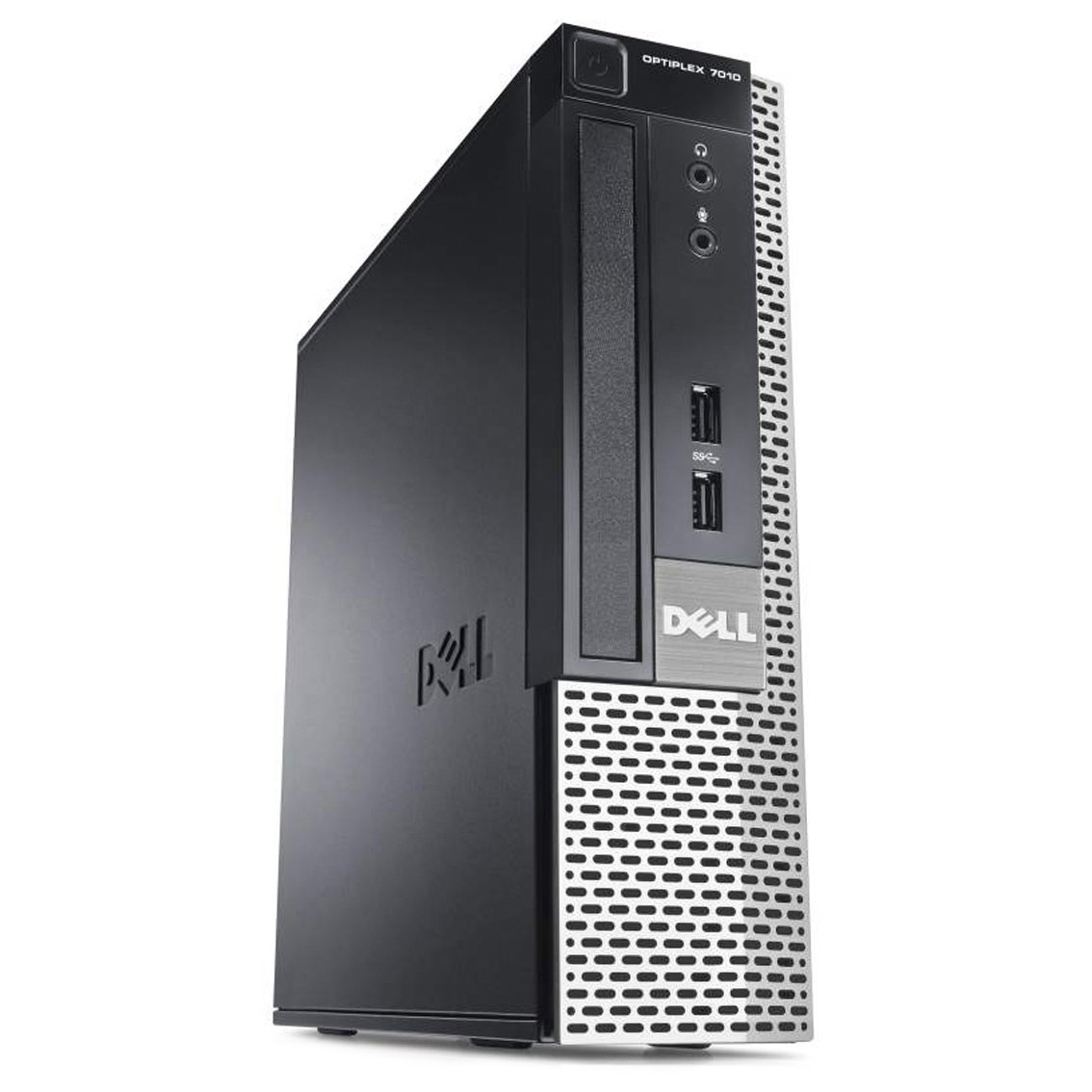 Refurbished Dell Desktop Optiplex 7010 USFF - Intel Core i3-3220 3.3GHz, 8GB DDR3 RAM, 120GB SSD, Windows 10 Pro by RefurbTek (Image #2)