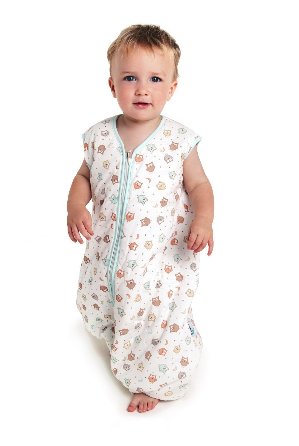 Slumbersafe Sleeping Bag With Feet 2.5 Tog Simply Owl 18-24 months UK652-25