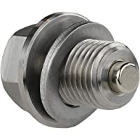 Votex - DP001 Stainless Steel Engine Oil Drain Plug with Neodymium Magnet (M14 x 1.5 MM) - MADE IN USA
