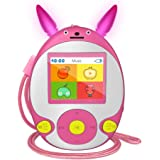 Wiwoo Bluetooth MP3 Player for Kids, 8GB Lossless Portable Music Player with Speakers, FM Radio, Voice Recorder, Video…