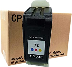 No-name Remanufactured Ink Cartridges Replacement For HP 45 78 XL 45XL 78XL HP45 HP78 Deskjet 1220c 1220ps 1280 6120 6122 6127 9300 930c 930cm 932c 935c 950c 952c 959c 960c 970cse 970cxi (1 Tri-Color)