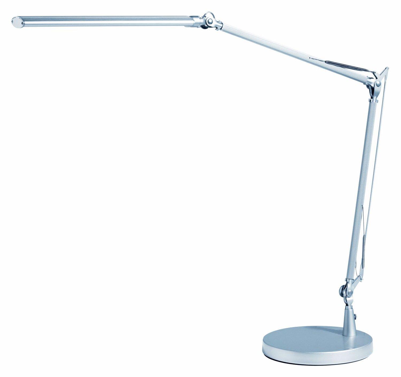 Alco 9078 LED Schreibtischleuchte, ca. 53 x 59 x 12,5 cm, silber, Metall, 53 x 59 x 12, 5 cm