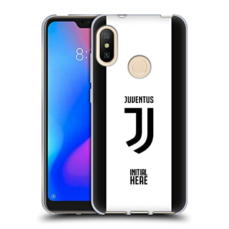 nuovo prodotto 3a48b d4696 Head Case Designs Personalizzata Personale Juventus Football Club Strisce  in Grassetto Cover in Morbido Gel Compatibile con Xiaomi Mi A2 Lite/Redmi 6  ...