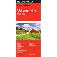 Rand McNally Easy To Read! Wisconsin State Map