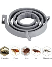 Flea and Tick Collar for Dog Cat Flea & Tick Collar Anti Flea Collar Natural & Safe Efficiently Repell Locust Lice of Pets for Small Medium Large Pets