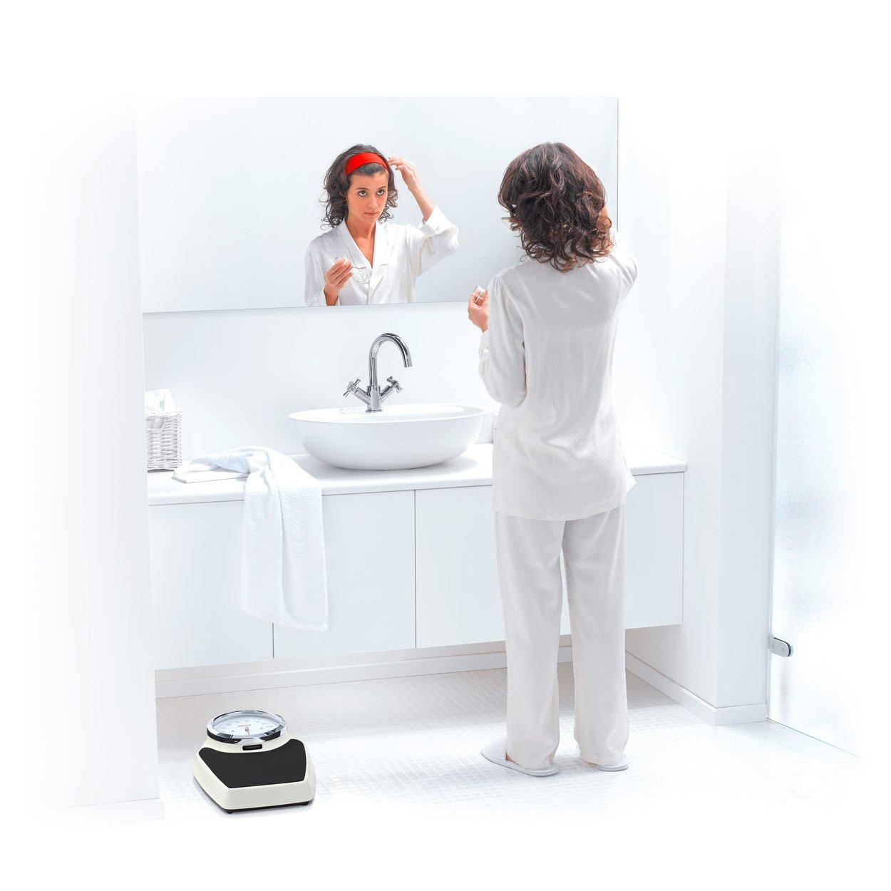 Seca colorata 760 - Báscula mecánica negro-blanco: Amazon.es: Salud y cuidado personal