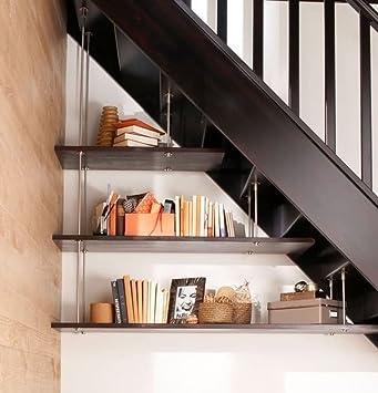 Kit 3 estantes para manejo de bajo escalera: Amazon.es: Bricolaje y herramientas