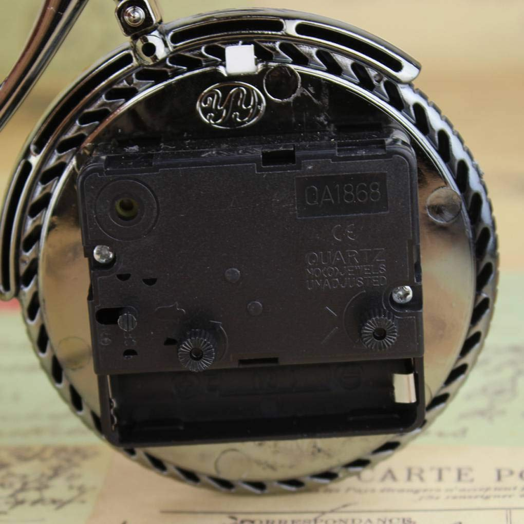Amazon.com: Vintage Bicycle Alarm Clock ABS Plastic Bike Table Clocks Ornament Home Art Decorations: Everything Else