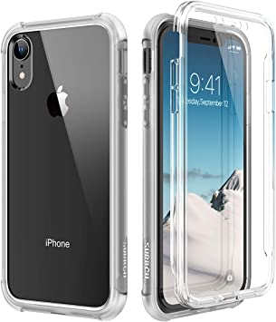 SURITCH Coque iPhone XR 360 Degré Transparente Antichoc Silicone ...