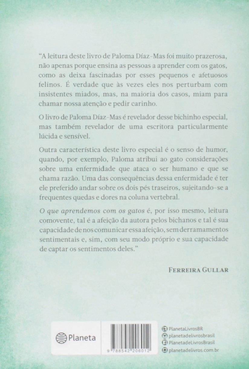 O que Aprendemos com os Gatos (Em Portuguese do Brasil): Paloma Díaz- Mas: 9788542206012: Amazon.com: Books
