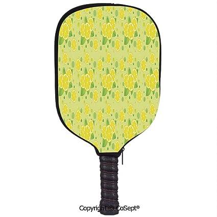 Amazon.com : PUTIEN Easy to Use Racquet Set, Lemon and Lime ...