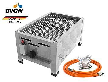 Gastro Horno Gas Acero Inoxidable 1 focos 3,6 kW con ...