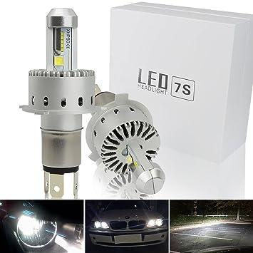Safego H4 Hi/Lo 80W Faro Bombillas Alquiler de Luces LED 8000LM Brillante Estupendo de