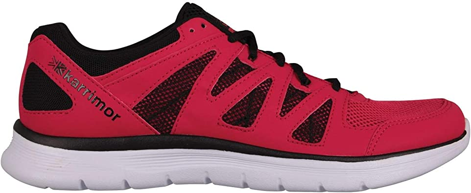 Karrimor Hombre Duma Zapatillas Deportivas De Running Rojo/Negro 46 EU: Amazon.es: Zapatos y complementos