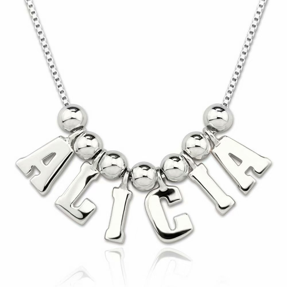 Jack-F Personalized One /& Only Name Necklace Custom Made Necklace with Any Name
