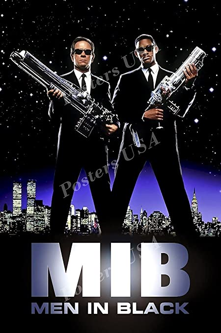 Amazoncom Posters Usa Men In Black Mib Movie Poster