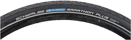 Schwalbe Marathon 700x38c Tire Wire Bead Black//Reflective GreenGuard