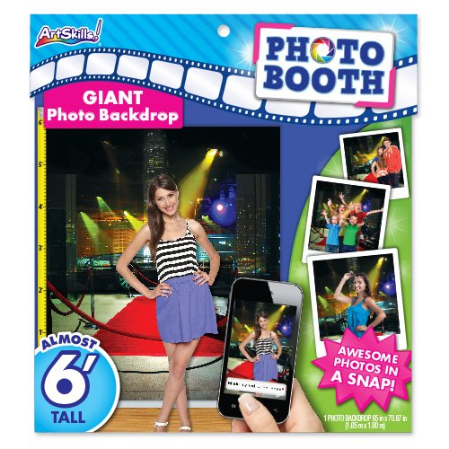 ArtSkills Giant Photo Backdrop, Red Carpet, 65 x 70.87 Inches (PA-2250) - Giants Carpet