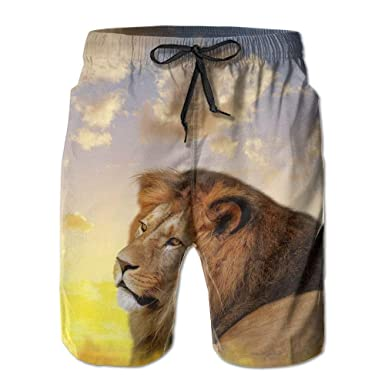 Forest Wild Lion King Sky Short Dry Lace Lacehort Pantalones ...