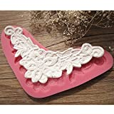 Bluelover Flower Fondant Lace Mold Silicone Cake Decorating Lace Mould