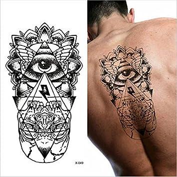LZC Tatuaje Temporal Adulto para Hombro Grande Maquillaje Cuerpo ...