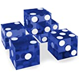 Cyber-Deals Grande S/élection de 19/mm Craps d/és/-/Authentic Las Vegas Casino Table-Played