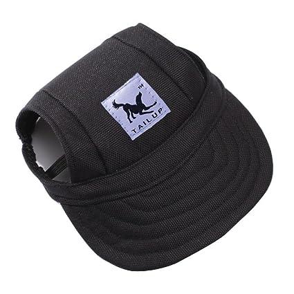 20e951c8f31 Amazon.com   Pet Baseball Cap with Ear Holes